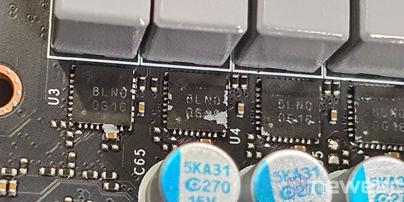 REVIEW KFA2 RTX 3070 SG MOSFETS