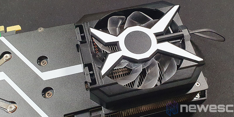 REVIEW KFA2 RTX 3070 SG VENTILADOR COLOCADO