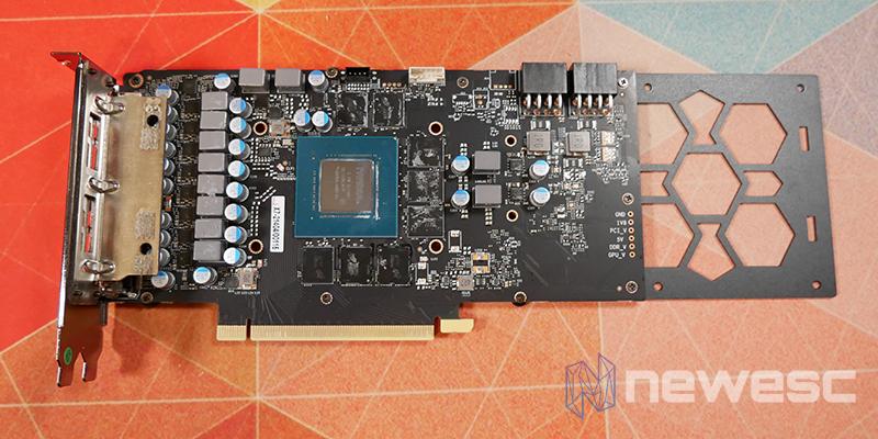 REVIEW KFA2 RTX 3070TI SG PCB CON BACKPLATE