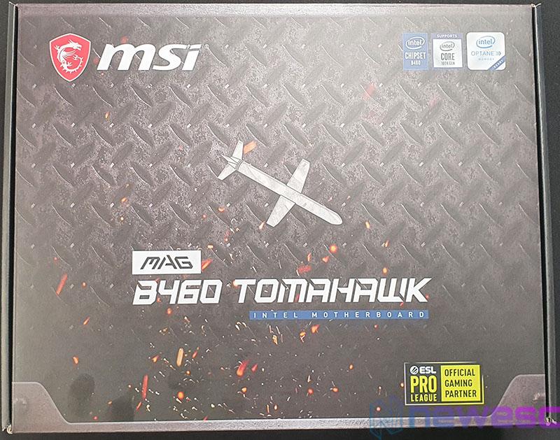 REVIEW MSI MAG B460 TOMAHAWK CAJA DELANTE