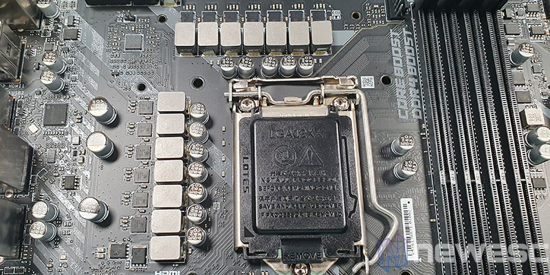 REVIEW MSI MAG Z490 TOMAHAWK VRM 1