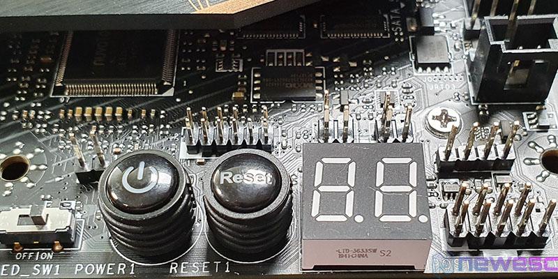 REVIEW MSI MEG Z490 ACE BOTONES Y DEBUG LED