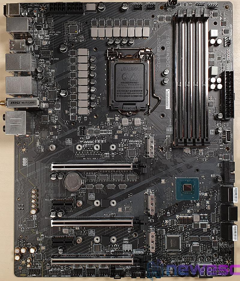 REVIEW MSI MEG Z490 ACE PCB