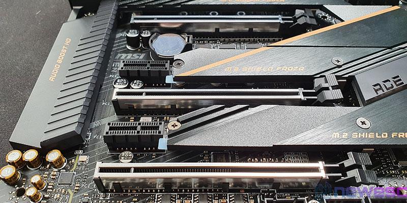 REVIEW MSI MEG Z490 ACE PUERTOS PCIE