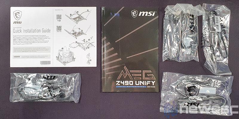 REVIEW MSI MEG Z490 UNIFY ACCESORIOS