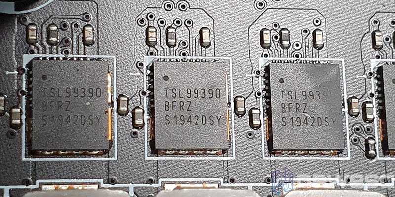REVIEW MSI MEG Z490 UNIFY MOSFETS