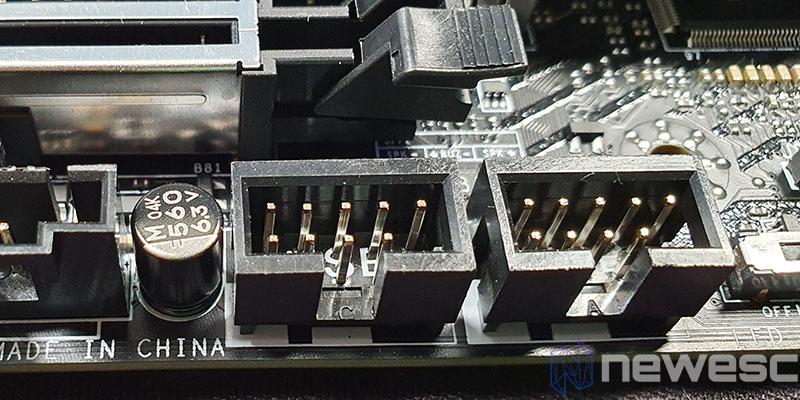 REVIEW MSI MEG Z490 UNIFY PUERTOS USB 1