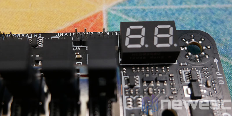 REVIEW MSI MEG Z590 ACE DEBUG LED