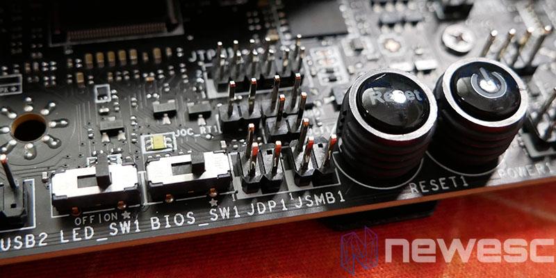 REVIEW MSI MEG Z590 ACE PALANCAS BIOS Y LEDS