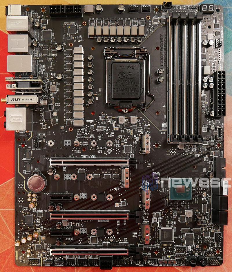 REVIEW MSI MEG Z590 ACE PCB DELANTE
