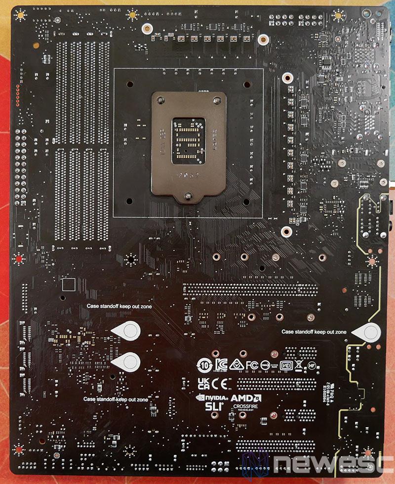 REVIEW MSI MEG Z590 ACE PCB DETRAS