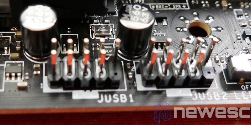 REVIEW MSI MEG Z590 ACE PUERTOS USB 2