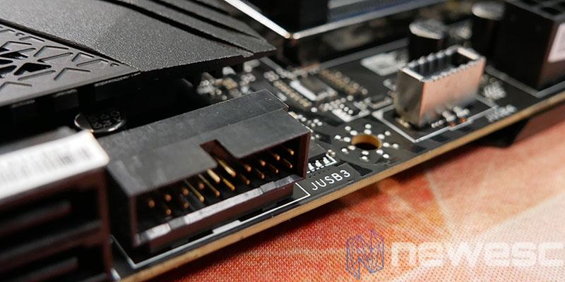 REVIEW MSI MEG Z590 ACE PUERTOS USB internos