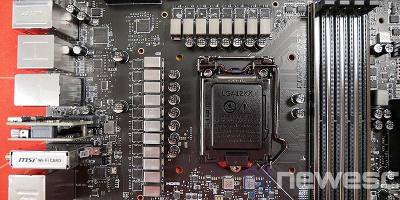 REVIEW MSI MEG Z590 ACE VRM