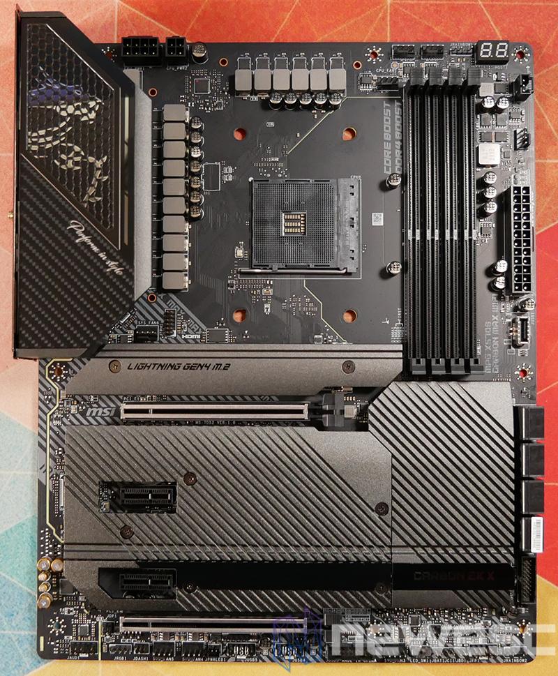 REVIEW MSI MPG X570S CARBON EK X PCB