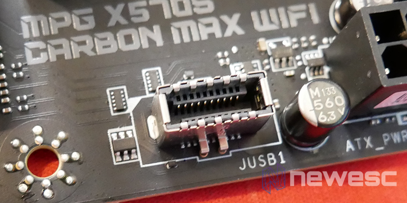 REVIEW MSI MPG X570S CARBON EK X PUERTO USB 3.2 GEN 2 TIPO C