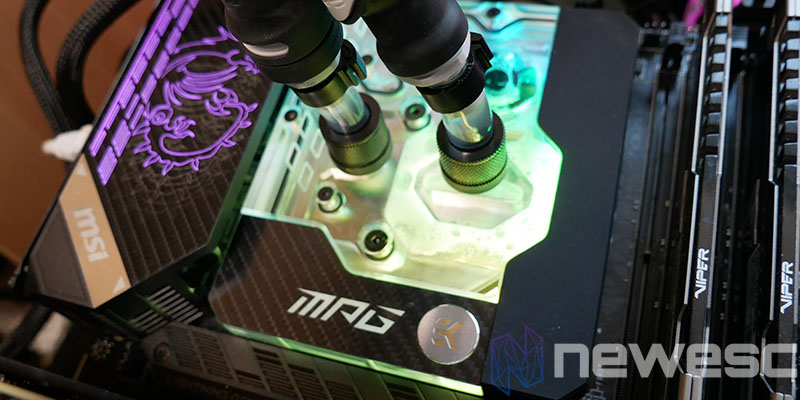 REVIEW MSI MPG Z590 CARBON EK X MONOBLOQUE 1