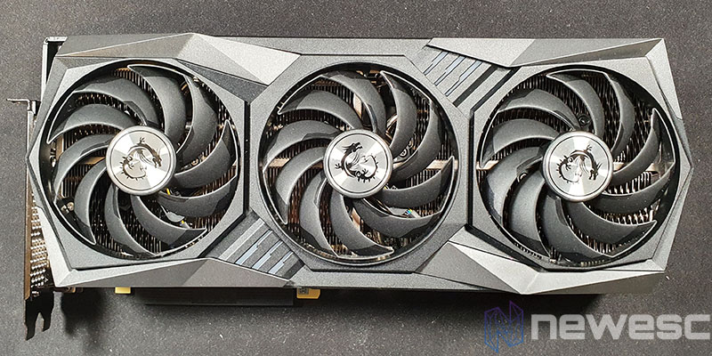 REVIEW MSI RTX 3070 GAMING X TRIO FRONTAL
