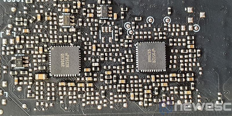 REVIEW MSI RTX 3080 GAMING X TRIO CONTROL DE VOLTAJE