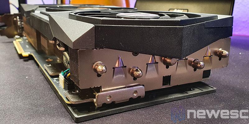 REVIEW MSI RTX 3080 GAMING X TRIO PUNTA INTERNA