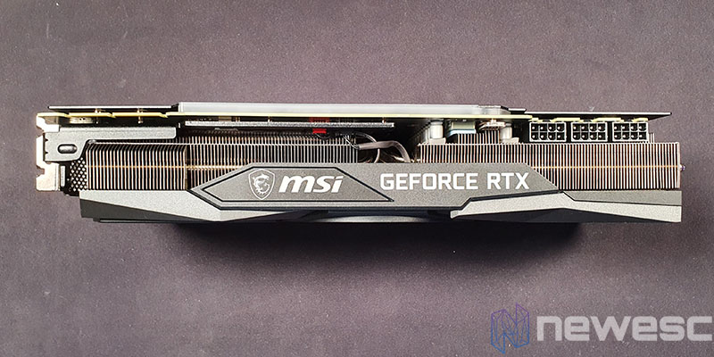 REVIEW MSI RTX 3090 GAMING X TRIO LATERAL EXTERNO