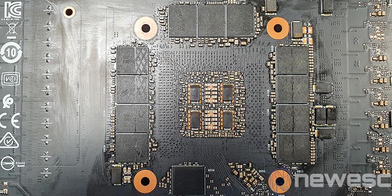REVIEW MSI RTX 3090 GAMING X TRIO MEMORIAS PCB DETRAS