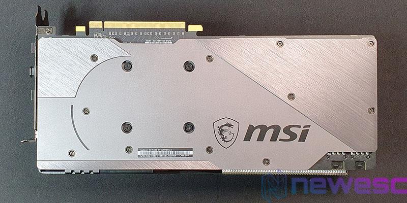 REVIEW MSI RX 5600 XT GAMING X BACKPLATE COLOCADO EN PCB