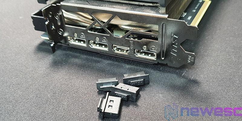REVIEW MSI RX 5600 XT GAMING X CONEXIONES