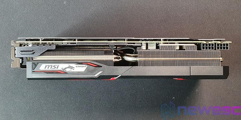 REVIEW MSI RX 5600 XT GAMING X LADO EXTERNO