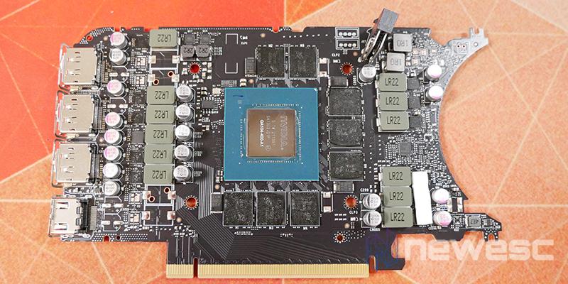 REVIEW NVIDIA RTX 3070Ti FE PCB DELANTE