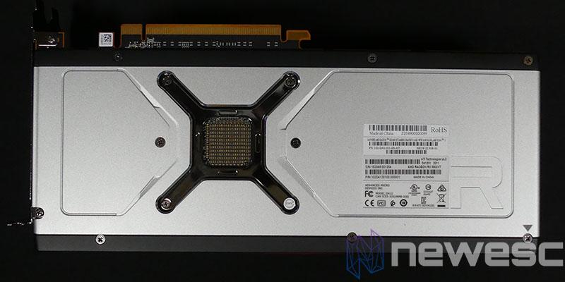 REVIEW SAPPHIRE AMD RADEON RX 6900XT BACKPLATE