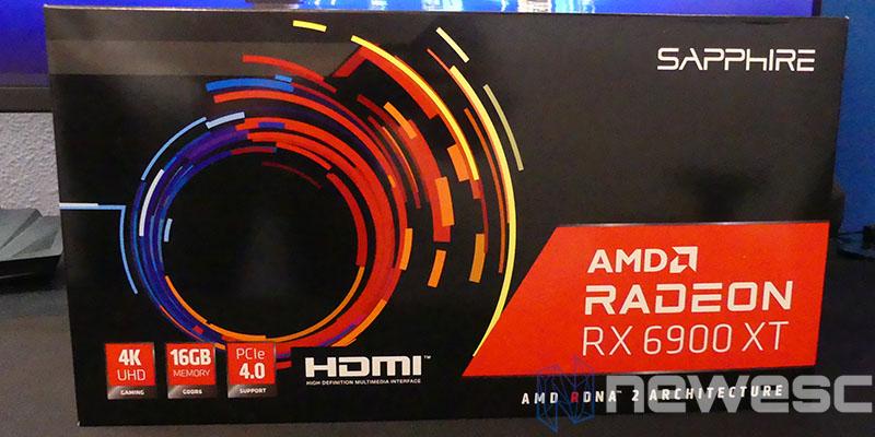 REVIEW SAPPHIRE AMD RADEON RX 6900XT CAJA DELANTE
