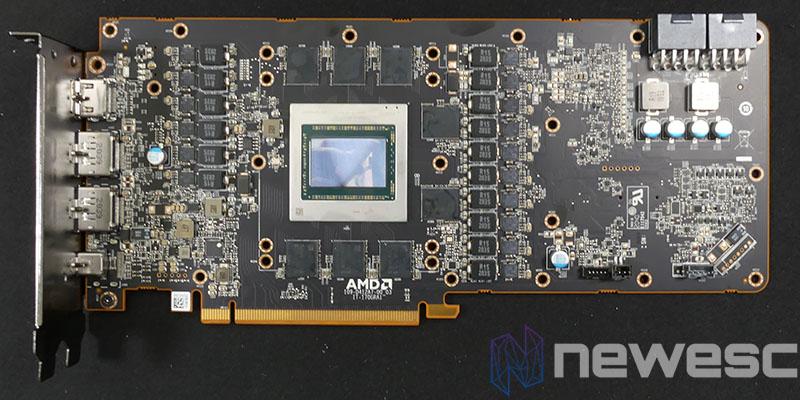 REVIEW SAPPHIRE AMD RADEON RX 6900XT PCB DELANTE