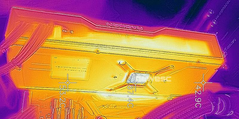 REVIEW SAPPHIRE AMD RADEON RX 6900XT TEMPERATURAS 1
