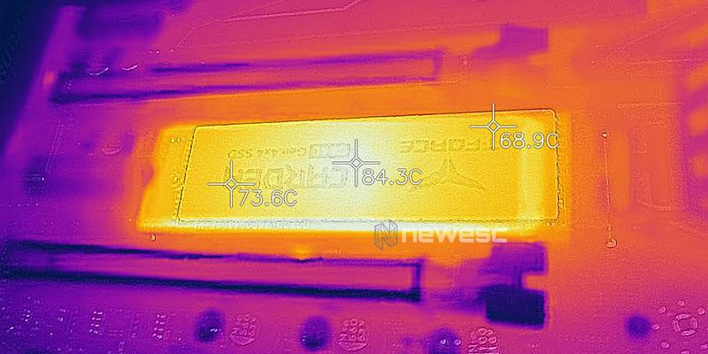 REVIEW TFORCE CARDEA CERAMIC C440 1TB TEMPERATURAS DISIPADOR CERAMICO