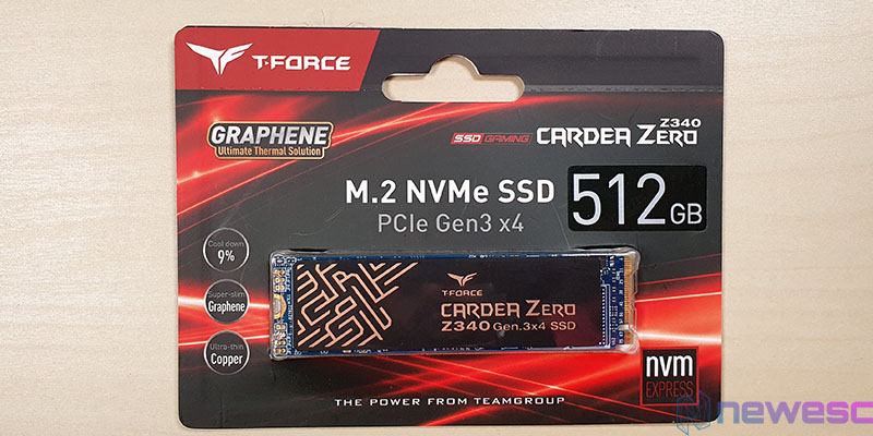REVIEW TFORCE CARDEA ZERO Z340 BLISTER