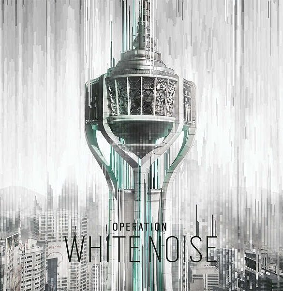 Rainbow Six Siege White Noise Portada