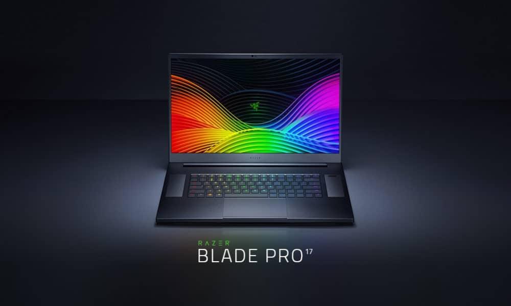 Razer Blade Pro 17 lanzamiento