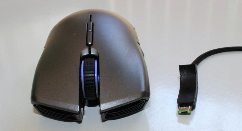 Razer Lancehead frontal USB