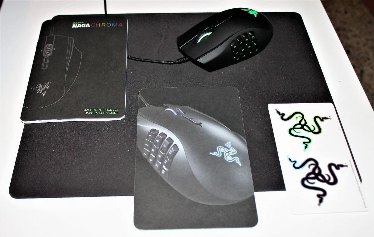 Razer Naga Chroma set1