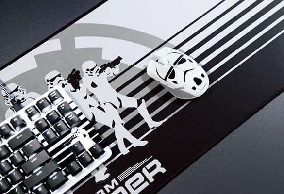 Razer Stormtrooper Teclado, alfombrilla y ratón Wallpaper
