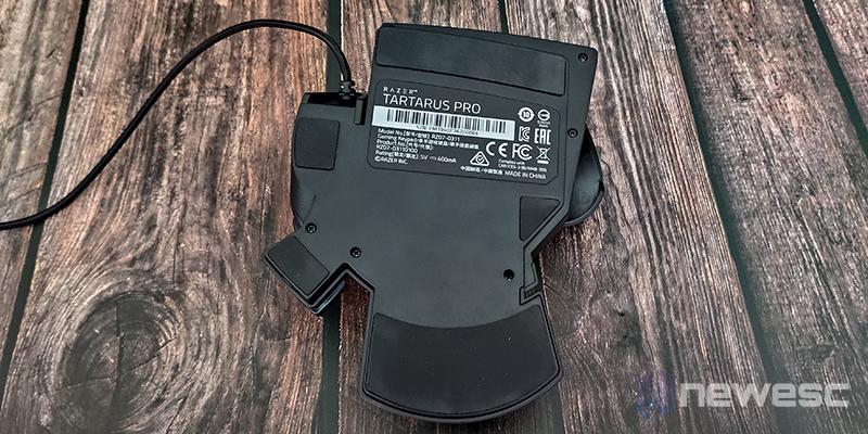 Razer Tartarus Pro inferior