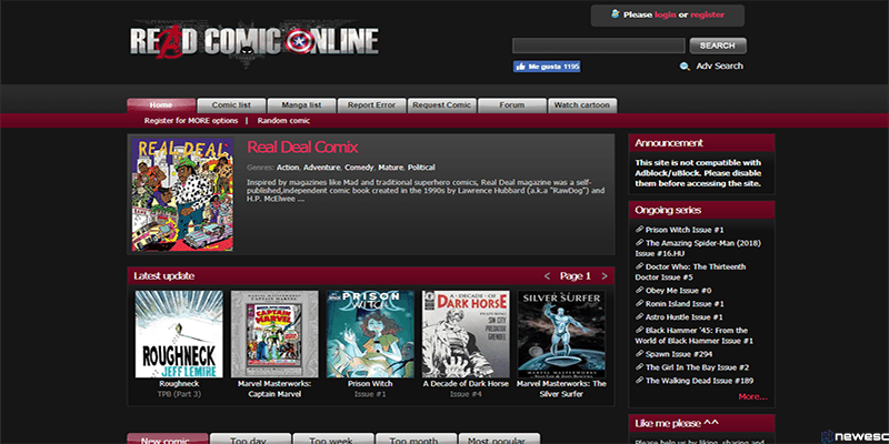 Read Comic Online