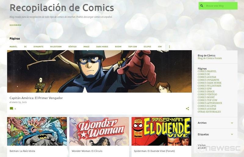 Recopilación de cómics descargar gratis