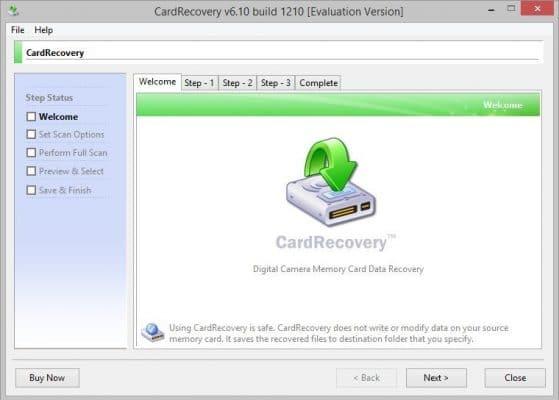 Recuperar datos y fotos de tarjeta SD - Card recovery