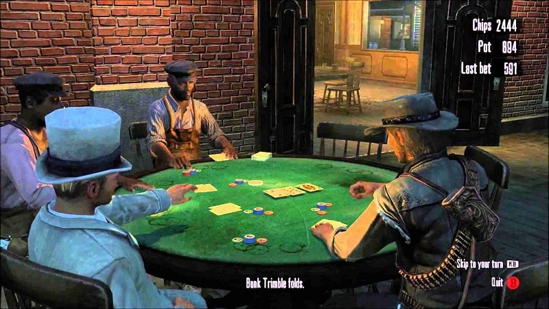 Red Deam Redemption casino juegos ps4 xbox one