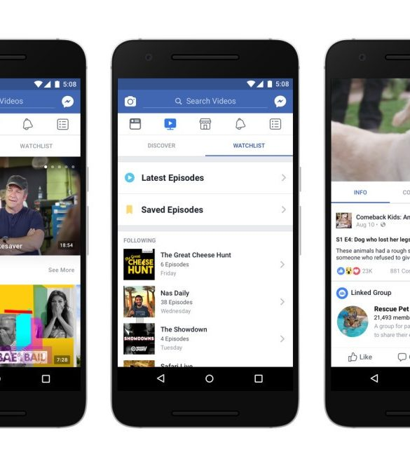 Rediseñan la plataforma de video de Facebook