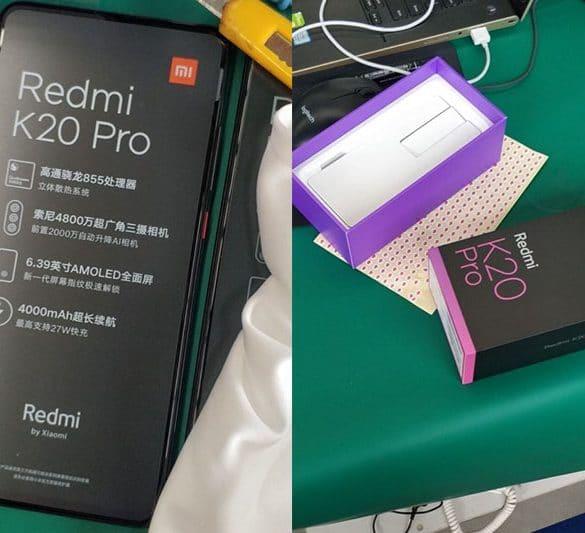 Redmi K20 filtración