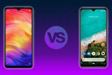 Redmi Note 7 vs Mi A3