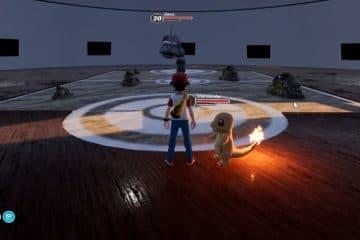 Remake de Pokemon Fire Red 3D para PC